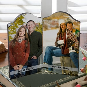 Personalized Folding Photo Plaques  - 5315