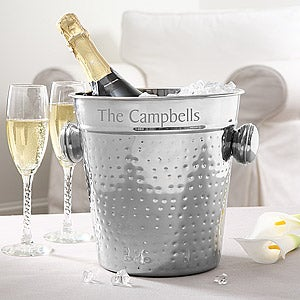 Engraved Chiller and Ice Bucket
