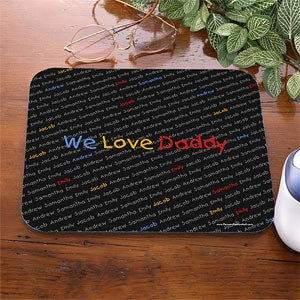 My Little Ones Personalized Mouse Pad for Parents - 5401
