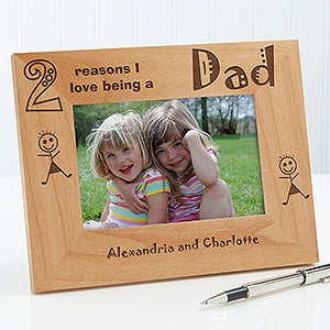 Personalized Wood Picture Frames - Reasons Why Collection - 5416