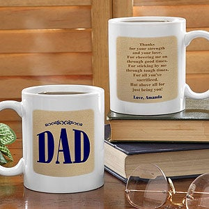 Thanks For Being You Ceramic Personalized Coffee Mug - 5481