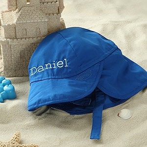 Personalized Blue Sun Hat for Baby Boys - 5551