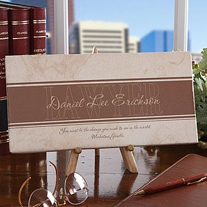 Inspiring Lawyers Personalized Canvas Art - 5554