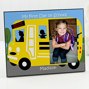 First Day of School Personalized Picture Frame - 5641