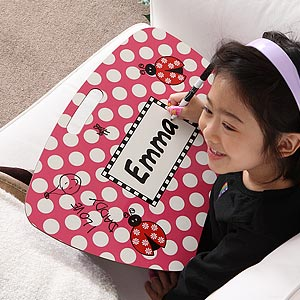Personalization Mall Ladybug Personalized Dry Erase Board Lap Desk at Sears.com