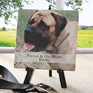 Personalized Pet Photo Canvas Art - Forever In Our Hearts - 5819