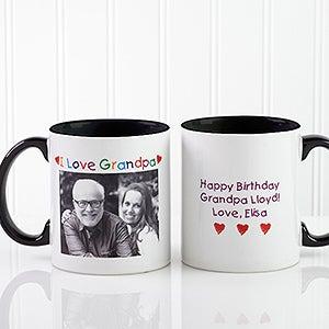 Loving You Personalized Photo Message Ceramic Coffee Mug - 5841