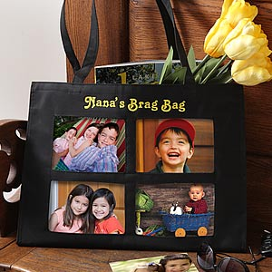 Ladies Personalized Photo Tote Bag - 5856