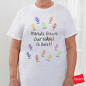 Hands Down Personalized Parent & Grandparent Clothing - 5860