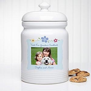Photo Sweet Treats Personalized Cookie Jar 40