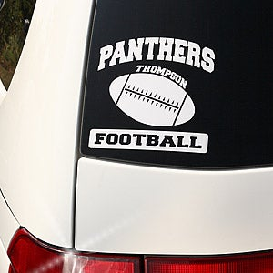 Personalized Sports Car Window Decals - 5882
