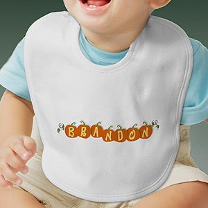 Personalization Mall Personalized Halloween Baby Bib - Pumpkin Crazy at Sears.com