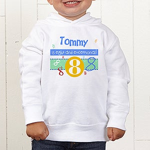 Personalized Kids Birthday Clothing - What's Your Number - 5918