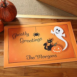 Personalization Mall Personalized Halloween Ghost Door Mat at Sears.com