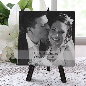 Our Special Day Personalized Wedding Picture Canvas Art - 5953