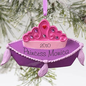 Personalization Mall Little Princess Personalized Crown Christmas Ornament at Sears.com