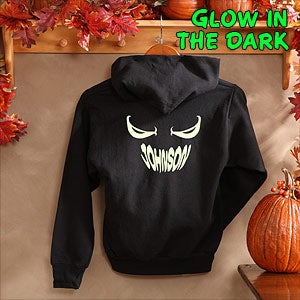 Personalization Mall I See You Personalized Glow-In-The-Dark Hooded Sweatshirt at Sears.com