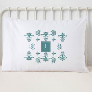 French Style Personalized Pillowcase - 6142