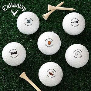 Personalized Wedding Golf Balls - Groom's Last Round - 6191