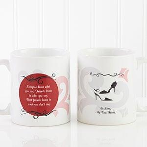 Women's Personalized Friendship Coffee Mug - 6241