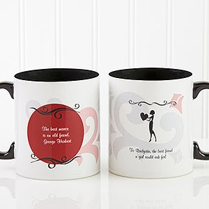 Women's Personalized Friendship Coffee Mug - 6241