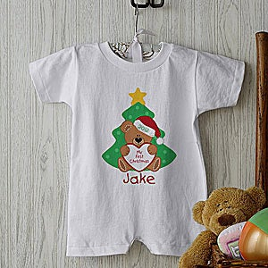 4a8e24e39 Personalized Baby's First Christmas Clothes, Outfits, Apparel and ...