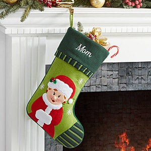Personalized Christmas Stockings  Mrs Claus  Christmas Gifts