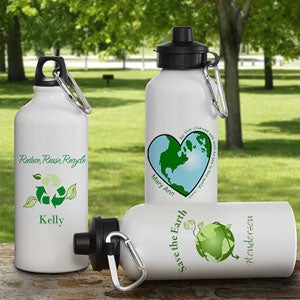 Eco Friendly Personalized Aluminum Water Bottle - 6358