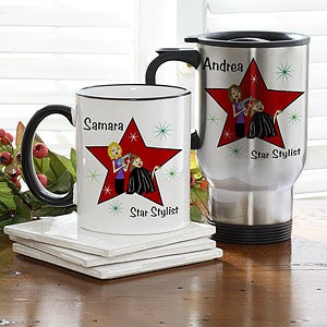 Personalized Hair Stylist Coffee Mug - 6372