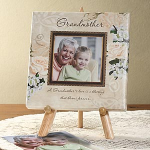 Grandmother's Love Personalized Photo Canvas for Grandma - 6384