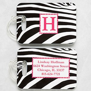 Women's Personalized Luggage Tag Set - 6391