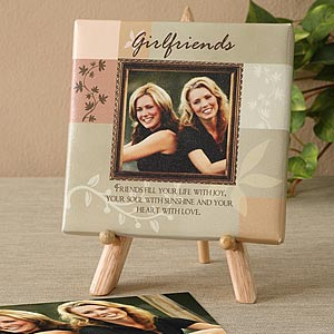 Friendship Personalized Photo Canvas Art for Friends - 6441