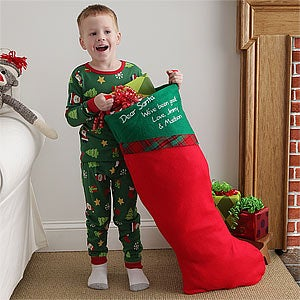 3 ft. Jumbo Personalized Christmas Stocking - 6461