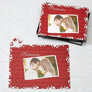 Soul Mates Romantic Valentine's Day Photo Puzzle - 6476