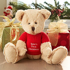 Personalized Christmas Teddy Bear - 6484