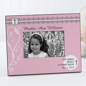 First Holy Communion Personalized Picture Frames - 6554