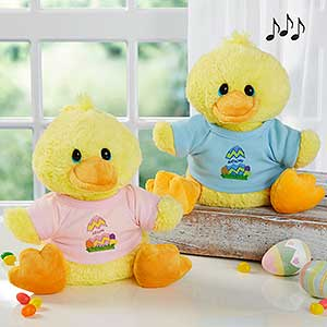 Personalized stuffed animals easter duck personalized stuffed animals easter duck 6614 negle Images