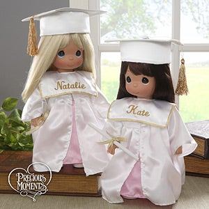 Precious Moments Personalized Graduation Dolls - 6675