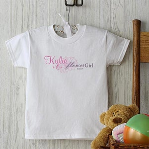 Personalization Mall Personalized Flower Girl T-Shirts at Sears.com