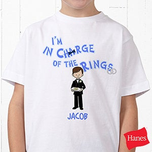 Personalized Ring Bearer T-Shirts - 6722