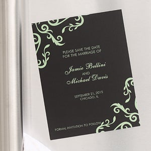 Save The Date Wedding Annoucement Cards & Magnets - 6739
