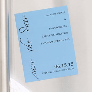 Custom Personalized Save The Date Cards & Magnets - 6755