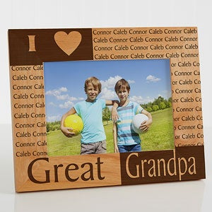 Great Grandparents Personalized Picture Frames - 6788