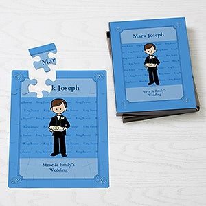 Personalized Ring Bearer Gift Kids Puzzle Wedding Gifts