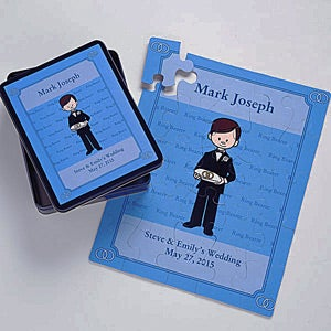Personalized Ring Bearer Gift Puzzle - 6869