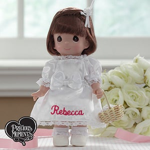 Precious Moments Personalized Flower Girl Dolls - 6877