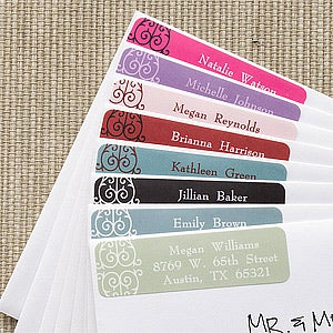 Personalized Address Labels - Oh La La Paris - 6910