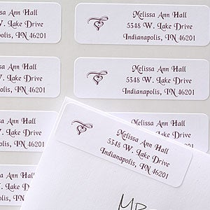 Signature Style Custom Address Labels - 6913