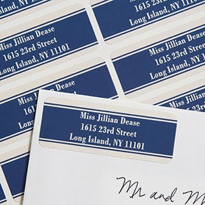 Personalized Business Return Address Labels - 6931
