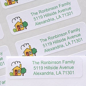 Personalization Mall Our Home Custom Address Labels at Sears.com